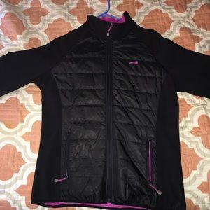 rain puff jacket